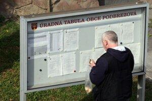 VZN musí obec zverejniť na úradnej tabuli.
