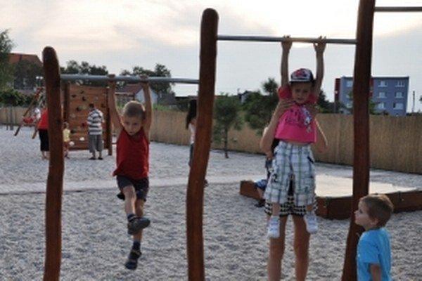 Detské ihrisko v Kútoch.