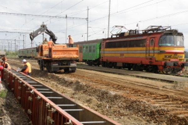Rekonštrukcia stanice má byť hotová do konca roka.