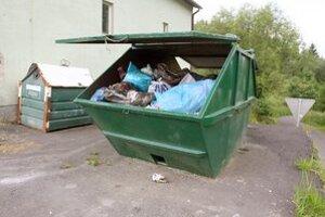 O odpad sa postarajú pracovníci mesta.
