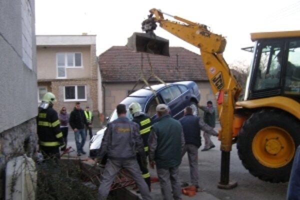 Nehoda v Štefanove.