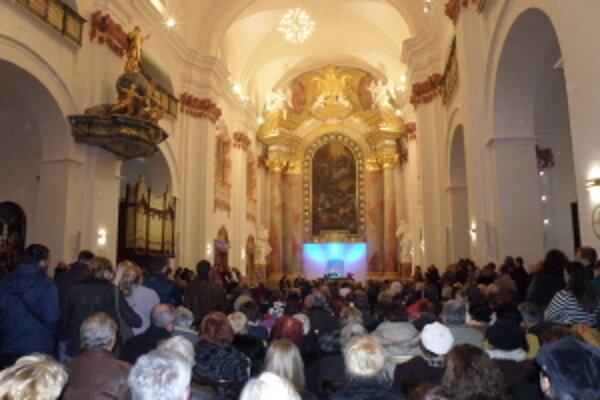 Slávnostné otvorenie Jezuitského kostola v Skalici.