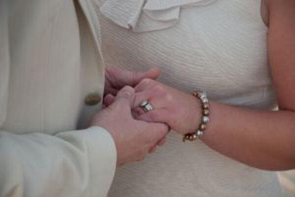 Manželia oslávili diamantovú svadbu.