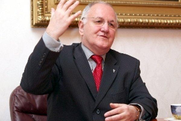 Podpredseda vlády SR Dušan Čaplovič.