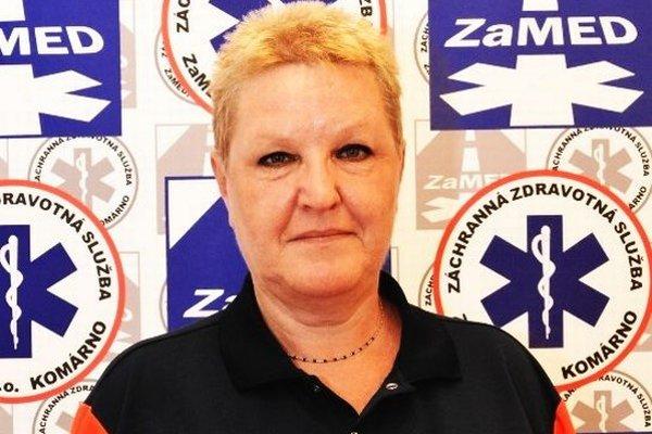 MUDr. Renata Kratochvilová, lekárka záchrannej zdravotnej služby ZaMED