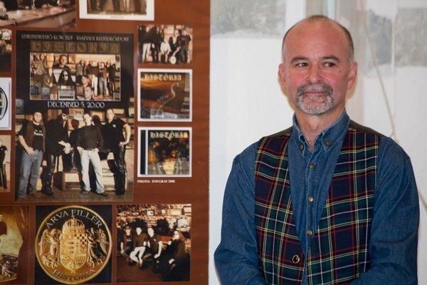 Rodák z Lučenca už má za sebou mnohé výstavy doma i v zahraničí.