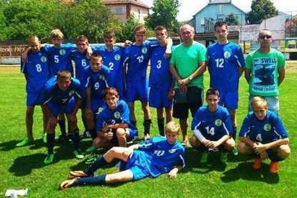 Výber ObFZ Nové Zámky, ktorý tvorili chlapci zo štúrovského mikroregiónu skončil na turnaji štvrtý.