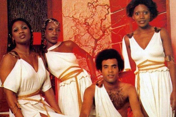 Takto vyzerala skupina v časoch najväčšej slávy.