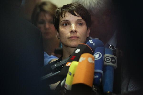 Líderka euroskeptickej a protimigračnej strany Alternatíva pre Nemecko.