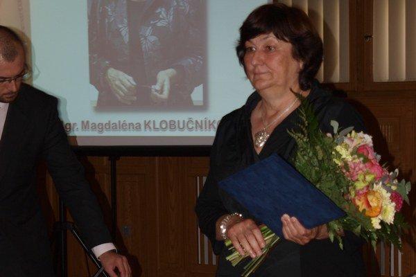 Magdaléna Klobučníková.