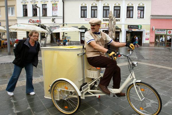 3cykel mal dnes na zvolenskom námestí slávnostnú premiéru.
