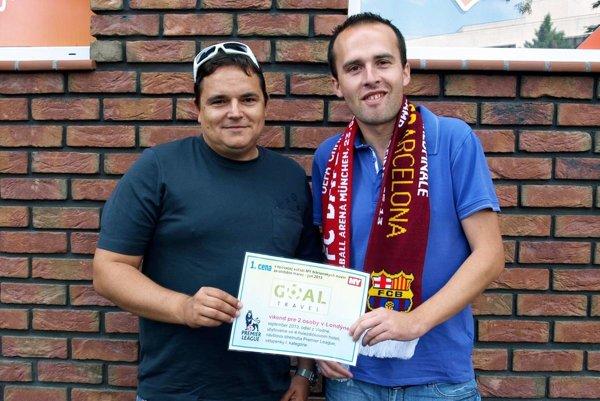 Pred troma rokmi blahoželal Marek Farkaš zo spoločnosti Goal Travel tomu istému víťazovi tipovačky. Vtedy získal zájazd na zápas Barcelony. Teraz vyhral znova!