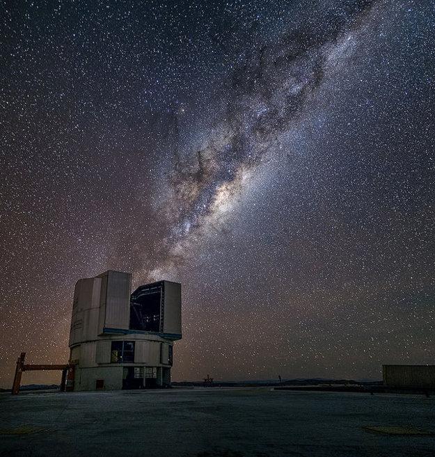 Mliečnu cestu  najlepšie vidno v neobývaných častiach planéty.