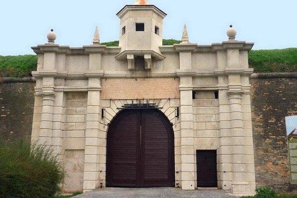 Najnovšia podoba Leopoldovej brány.