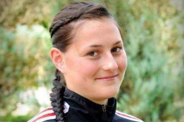 Lívia Klučková, účastníčka ME U19.