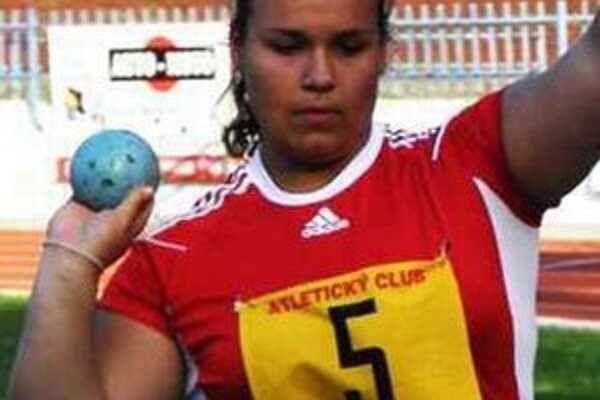 P. Slošárová zlepšila svoj rekord.