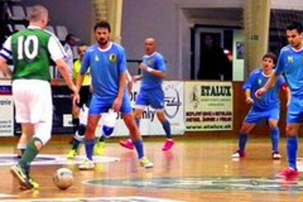 Futsalisti MFK TW si upevňujú pozíciu v prvej päťke Ilustračné foto z domáceho zápasu proti Čekanu.