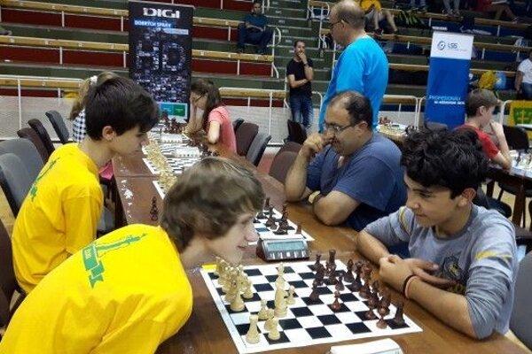 Viktor Filkus ( vpravo) na nedávnych Majstrovstvách Slovenska