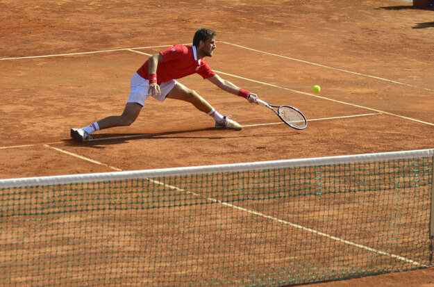 Martin Kližan hral naposledy na turnaji v Poprade.