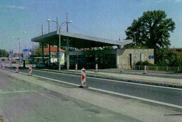 Colnica v Komárne.