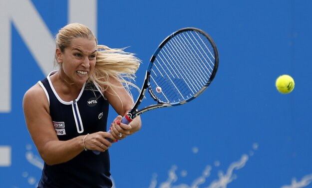 Dominika Cibulková je už medzi osmičkou najlepších.
