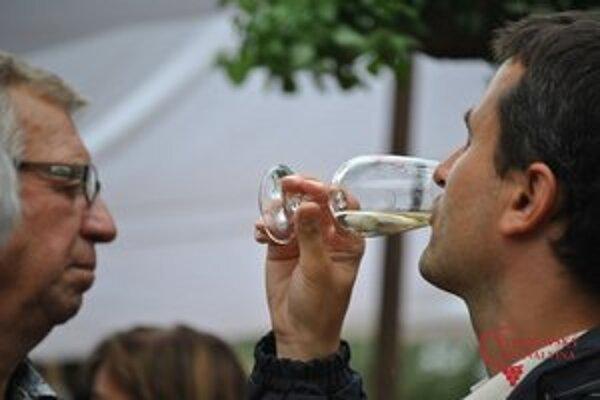 Festival je hlavne o víne.