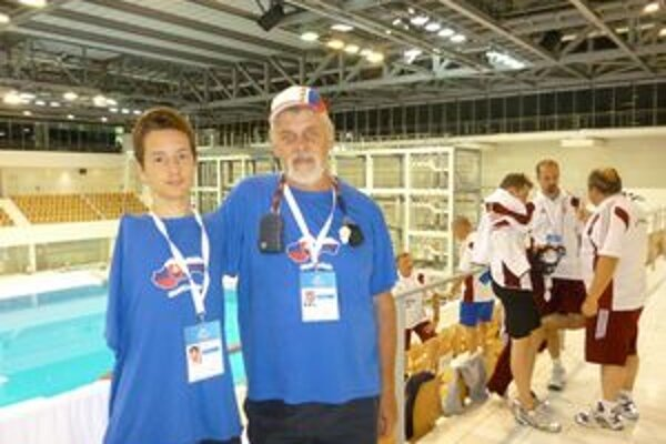 So svojím trénerom L. Struhárom.