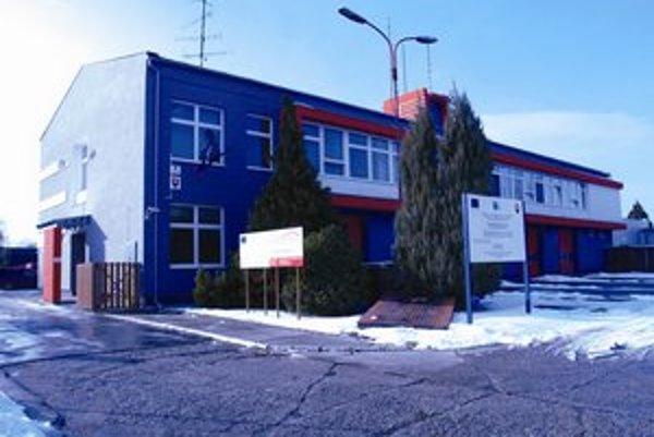 Obnovená budova.