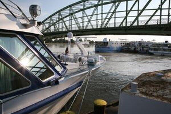 Pohľad na súčasný most.