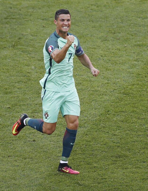Hoci Portugalsko nezvíťazilo, Cristiano Ronaldo mal po zápase s Maďarskom dôvod na radosť.