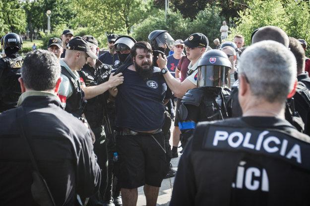 Polícia zadržala Jakuba Škrabáka.