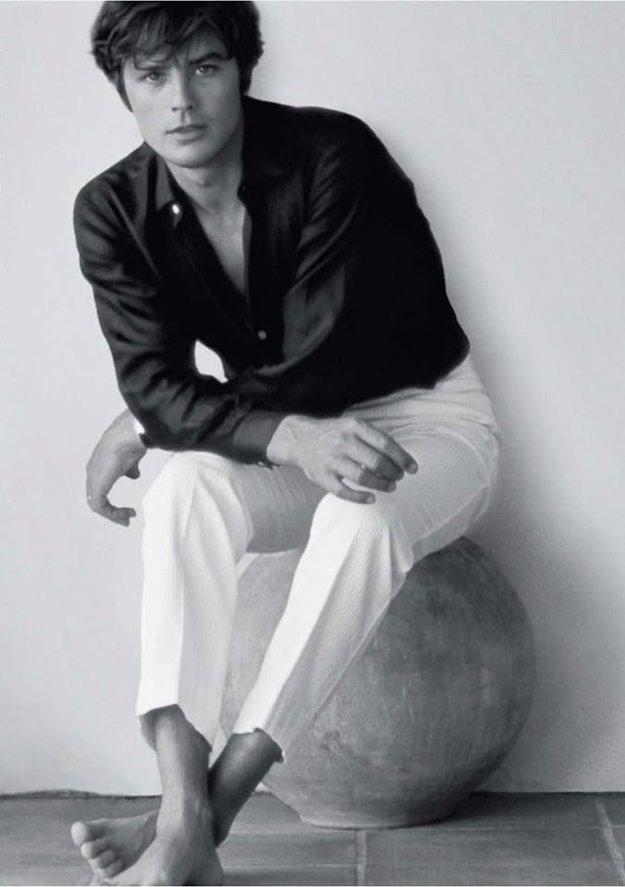 Alain Delon v roku 1966
