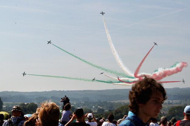 Medzinárodné letecké dni IAF 2015 na Sliači.
