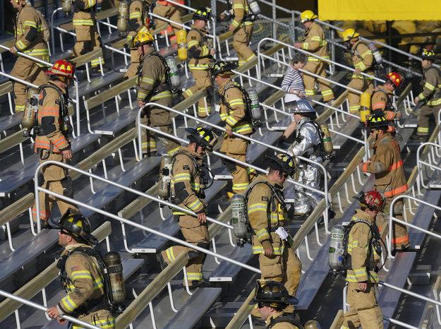 Cvičenie požiarnikov k výročiu 9/11, Spojené štáty