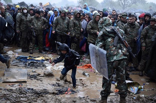 Utečenci v Grécku