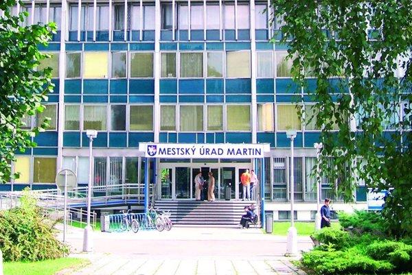 Mestský úrad v Martine.