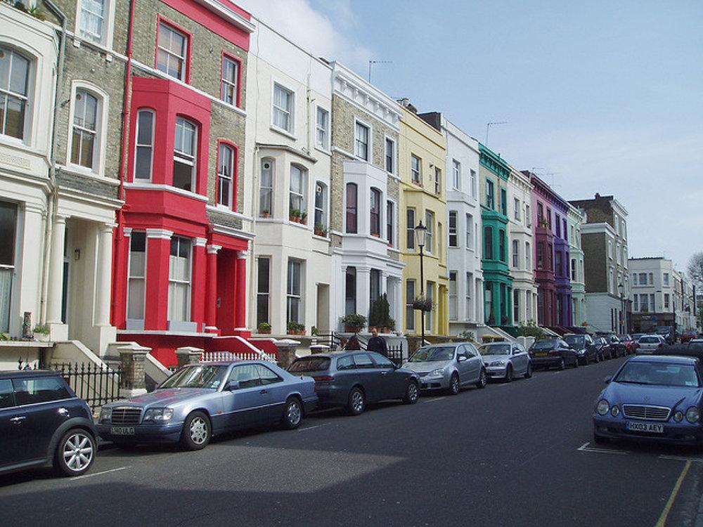 Londýnsky Notting Hill.