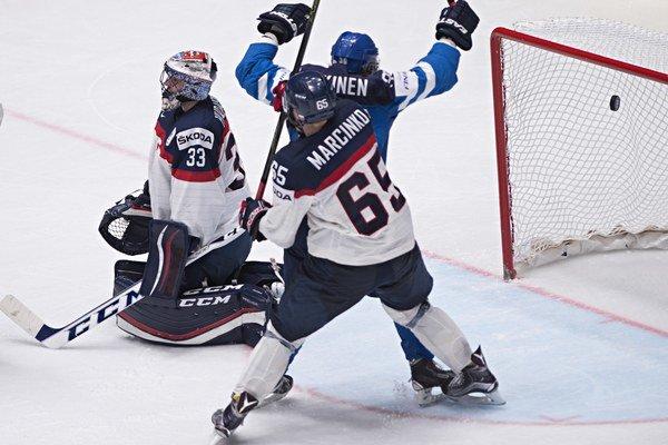 Fíni sú podľa Marcinka vo forme. Vskupine zdolali Slovákov jednoznačne 5:0.