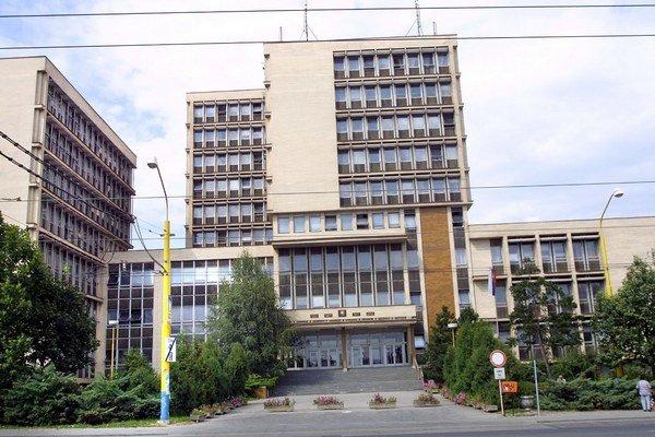 Budova košických súdov. Ján s Jarmilou sa verejného zasadnutia nezúčastnili.