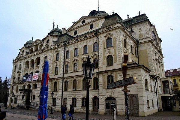 Štátne divadlo patrí k dominantám centra Košíc.
