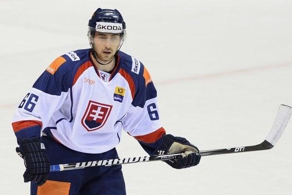 Košický obranca v reprezentačnom drese. Radek Deyl sa pozvánke do Olympijského tímu potešil.