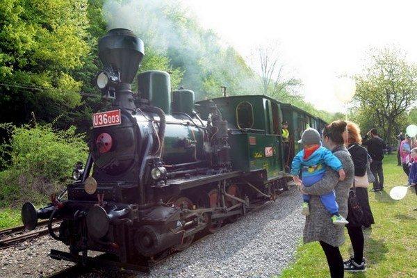 Ročne železnička prepraví okolo 40-tisíc návštevníkov.