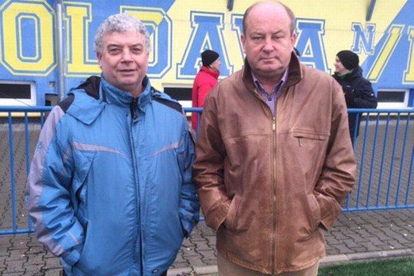 Skúsené duo. Dušan Ujhely (vľavo) a Vladimír Popovič.
