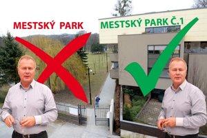 """Nebýva v """"Mestskom parku"""". Býva v """"Mestskom parku č. 1""""."""