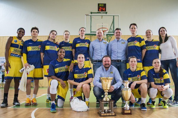 S trofejou. Good Angels vyhrali Slovenský pohár.