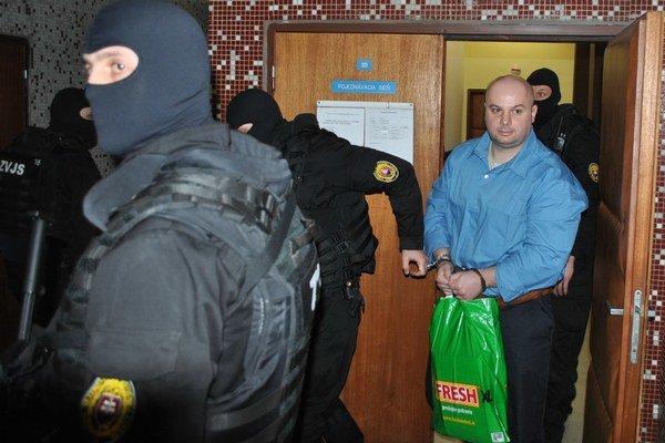 Branislav Adamčo. Zo súdu odchádzal spokojný.