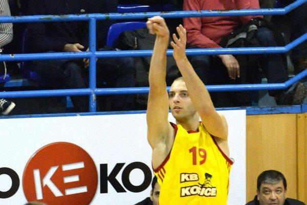 Miloš Dimič. Vposledných dvoch zápasoch bol košickým žolíkom.