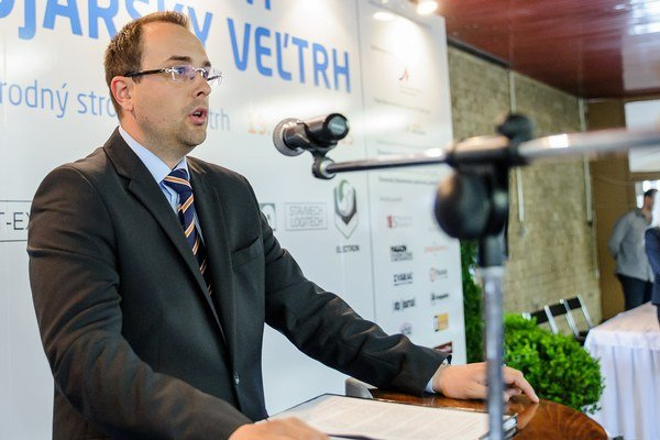Štátny tajomník rezortu hospodárstva Rastislav Chovanec.