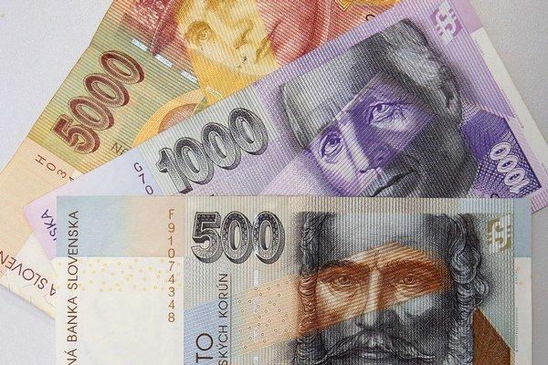 Ku koncu minulého roka zostalo v obehu 19 miliónov kusov slovenských bankoviek.