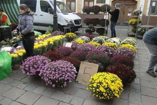 Niekomu stačí umelý venček, iný uprednostňuje vytvarované kytice v kvetináči.
